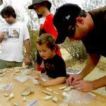 紅岩峽谷公園 充滿野趣的化石課