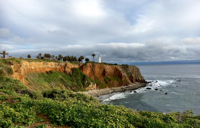 维森特角燈塔,是西太平洋海岸的至美景點,曾是郵票畫面。