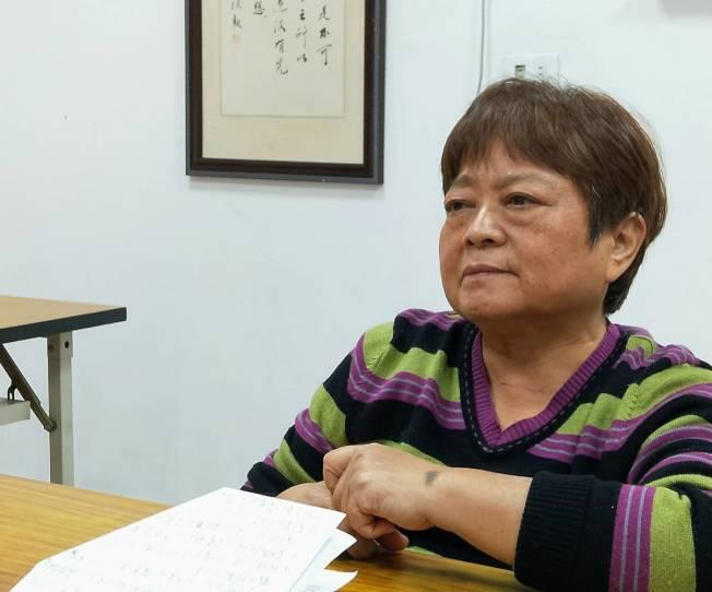 桃園市腎友協會總幹事李明蘭。 (記者鄧桂芬╱攝影)