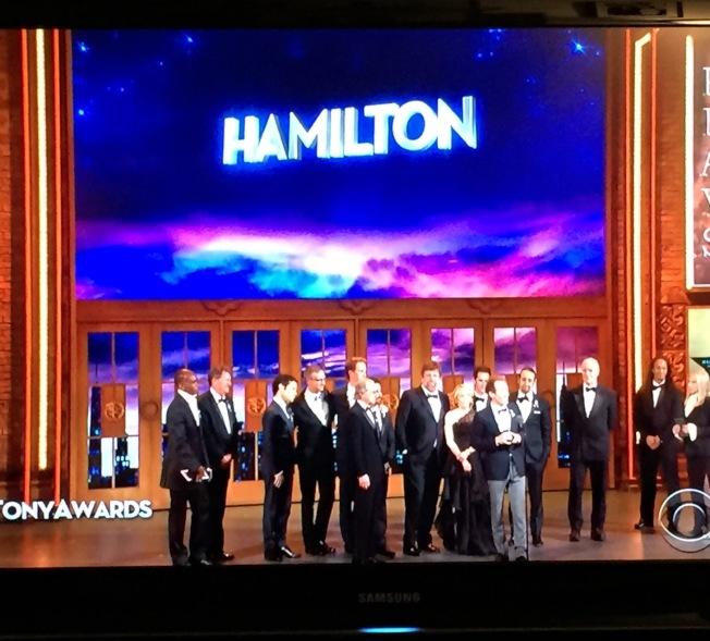 漢彌爾頓是近年走紅百老匯的歷史歌舞劇。