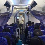 武漢神秘肺病 台入境登機檢疫 首班直航機就現發燒幼童