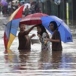 雅加達暴雨成災 跨年夜16死、3萬人撤離家園