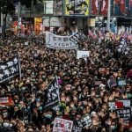百萬港人元旦遊行 港警強行喊卡 民陣批「旨暴製亂」