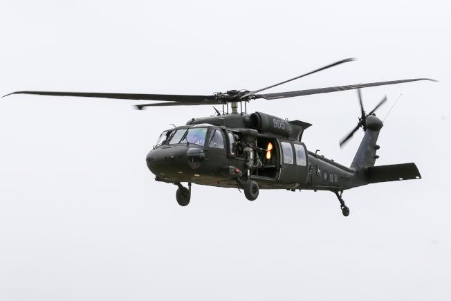 圖為UH-60M黑鷹直升機。(本報資料照片)