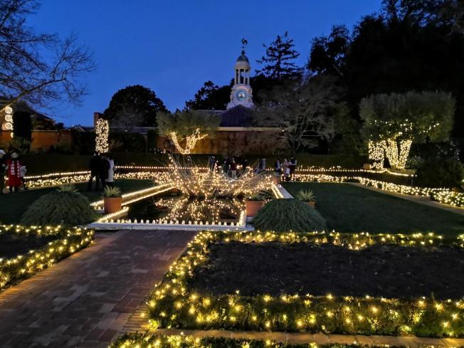 引領百年歐式莊園,訪客為之驚豔。