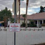 鄰居違法短租 她自製上百個告示牌「提醒」