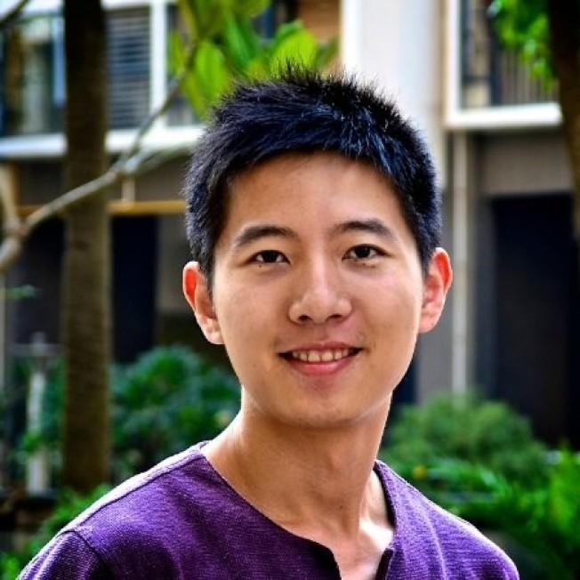 曾碩就讀於四川大學和堪薩斯州立大學,搬來屋崙才五個月。(取自linkedIn)