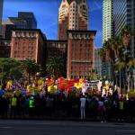 反戰示威 洛城200人抗議