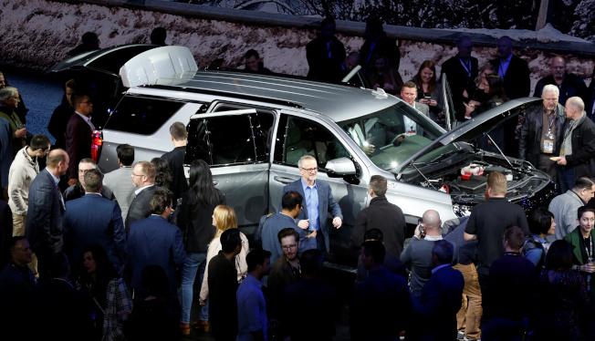 美國2019年新車銷售下滑1.3%,不過銷量連五年高於1700萬輛,卡車或SUV占去年新車銷售達69%。(路透)