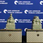 洛杉磯市立圖書館 獲贈越窯青瓷龍鳳玉璽