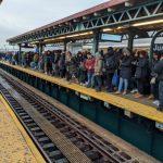 節後返工首日 紐約地鐵癱瘓 12路線信號出問題 影響逾百萬乘客