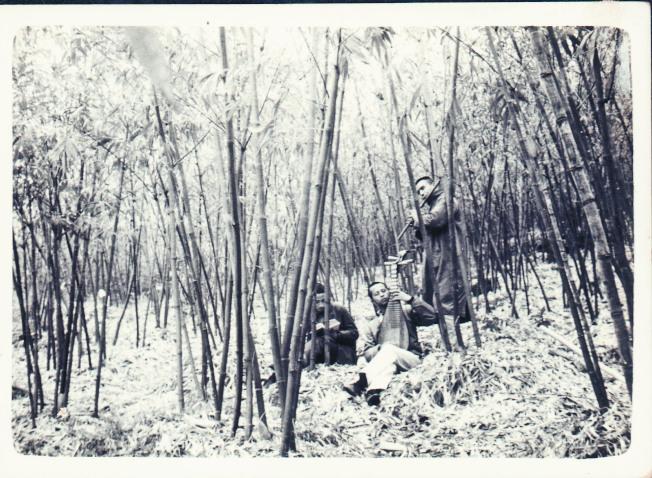 傳統文化的夢,就具體出現在對隱士高人如竹林七賢的追慕中。(林谷芳.圖片提供)