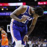 NBA/安比德手指恐怖扭曲 西蒙斯:看到快吐了