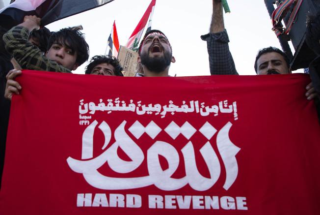伊朗將領蘇雷曼尼遭美軍擊殺後,什葉派穆斯林揚言為他復仇,伊朗最高領導人哈米尼已下令直接報復美國。(Getty Images)