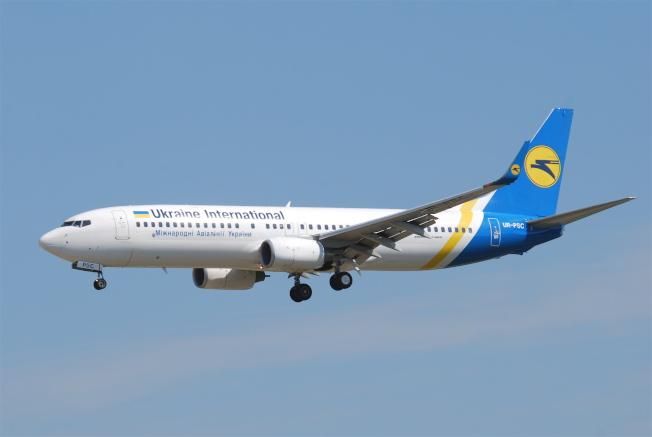 烏克蘭航空公司同型的937-800客機。(維基百科)