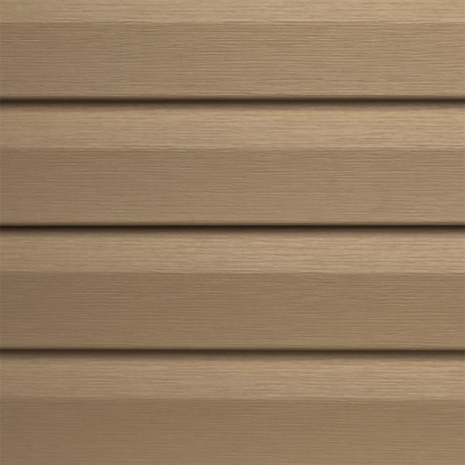 乙烯外牆壁板的耐久性、低維護非常吸引人。(取自HomeDepot)