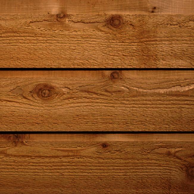 木質的外牆壁板重量輕,容易安裝和加工。(取自HomeDepot)
