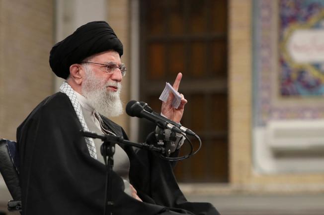 伊朗最高領導人哈米尼說,伊朗已經「賞了美國耳光」。(Getty Images)