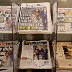 快看世界 梅根「脫王室」後 英國各報頭版熱議