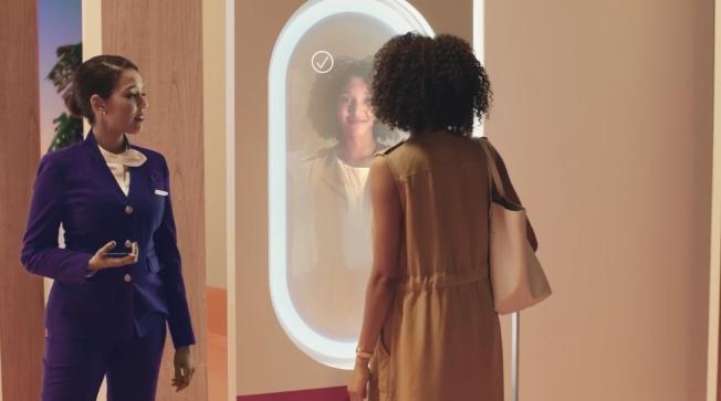 達美航空表示,未來乘客可通過人臉識別辦理登機手續,提高效率。(取自官網)