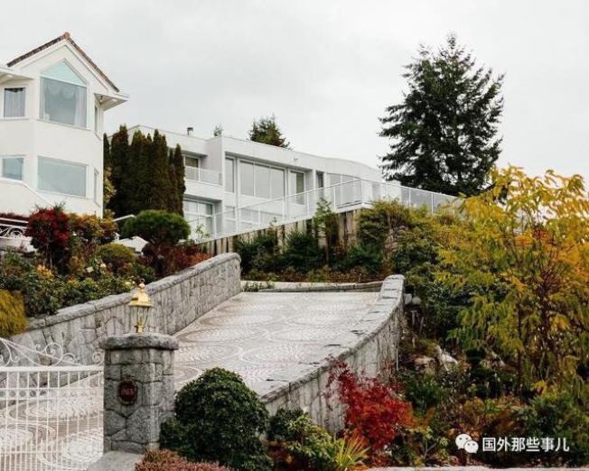 苑剛位於加拿大的豪宅。(取材自微信)
