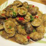 辣椒豆醬炒蜆