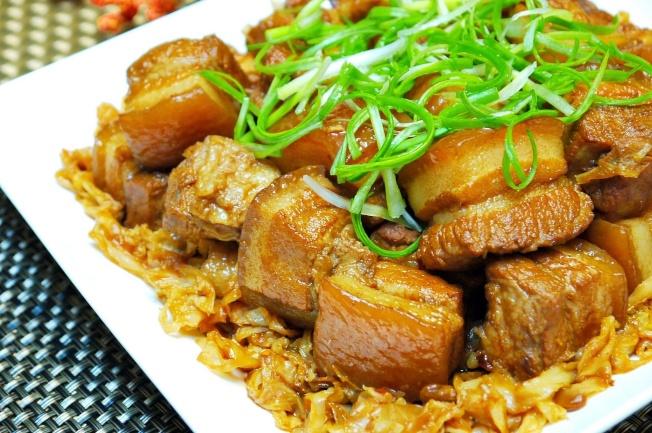 高麗菜乾燒肉
