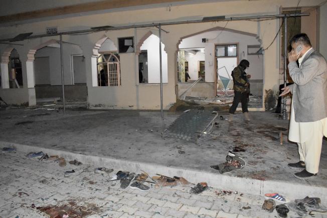 清真寺晚禱引爆炸彈15人喪生19人受傷