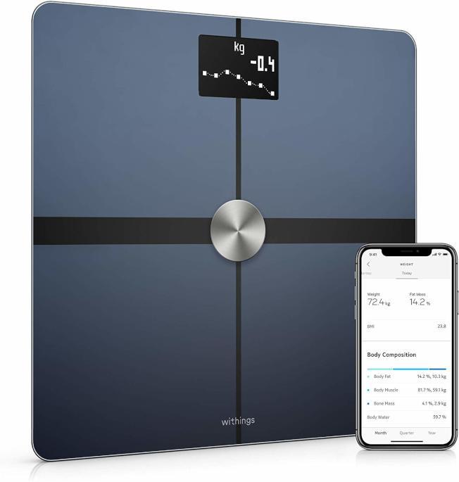 電子磅秤結合手機app,可以發揮多重功能。(Amazon)