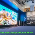 CES秀未來科技 292吋電視吸睛