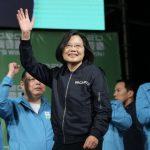 蔡英文連任中華民國總統 民進黨國會席次過半 再次完全執政