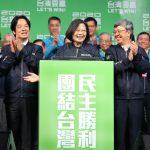 兩岸關鍵8字 蔡英文籲北京:和平、對等、民主、對話