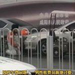 為3元停車費吵了40分鐘…收費員雨中向車主下跪