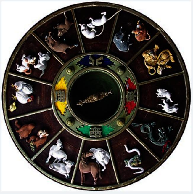 十二生肖以鼠為首。(取材自維基百科)