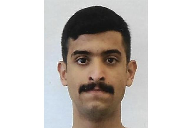 去年12月在佛羅里達州海軍基地開槍濫射後遭擊斃的沙烏地阿拉伯軍官奧仙拉尼。(美聯社)