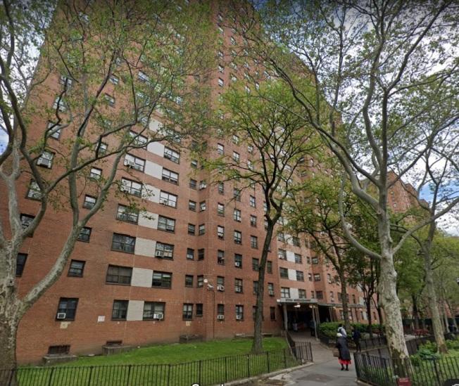 曼哈顿哈林区Grant Houses有关蟑螂的投诉非常多。(谷歌地图截图)