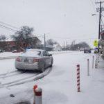 五年最大降雪 北德州成銀色世界