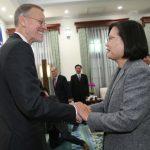 蔡英文:台美升級「全球合作夥伴」深化經貿合作