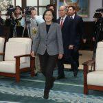 蔡英文連任 各國祝賀 中國外交部罕見一天兩次抗議