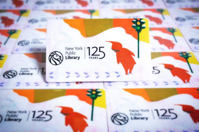 紐約公共圖書館推出125周年免費限量圖書卡。(紐約公共圖書館提供)