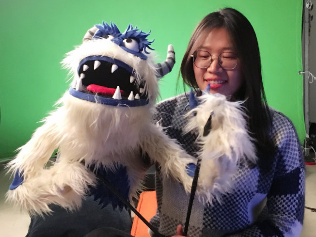 宋思琪參與的另一部萊卡工作室動畫「遺失的環節」也入圍了奧斯卡最佳動畫長片。(圖:宋思琪提供)