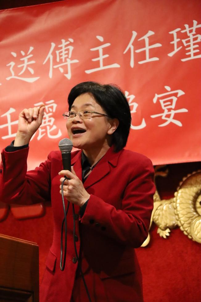僑教中心主任賴麗瑩。(記者陳淑玲/攝影)