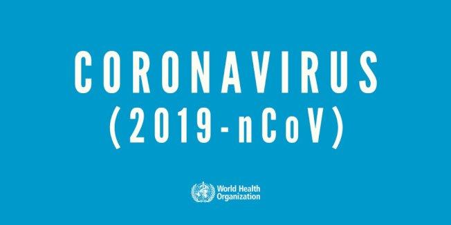 世界衛生組織已正式將新病毒命名為「2019新型冠狀病毒(2019-nCoV)」。(取材自世衛官網)
