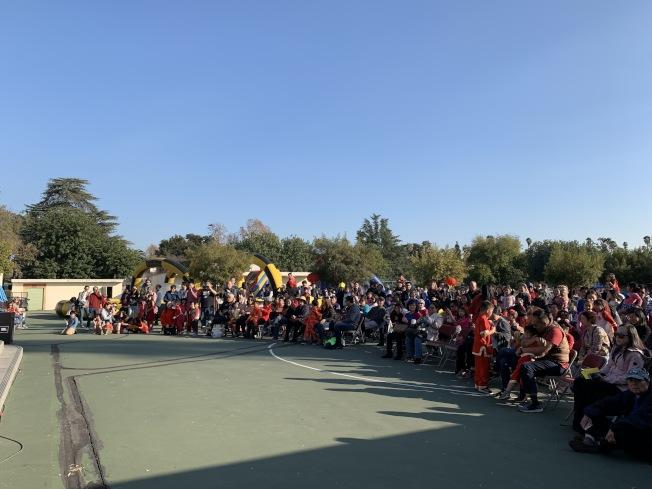 Marengo小学12日举办农历新年嘉年华活动。(家长教师协会提供)