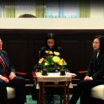 接見美前駐港代表 蔡英文:美國是台灣最重要戰略夥伴