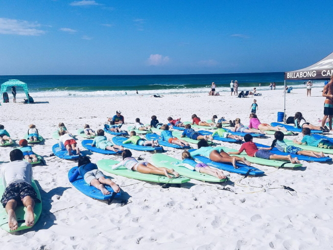 佛州的海灘風光之一。(佛州旅遊局提供)
