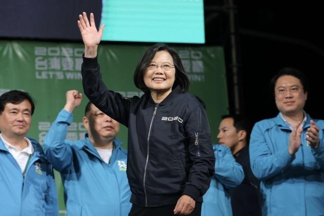 2020台灣大選終於落下帷幕,蔡英文以57.13%的高得票率擊敗韓國瑜獲得連任。(本報檔案照)