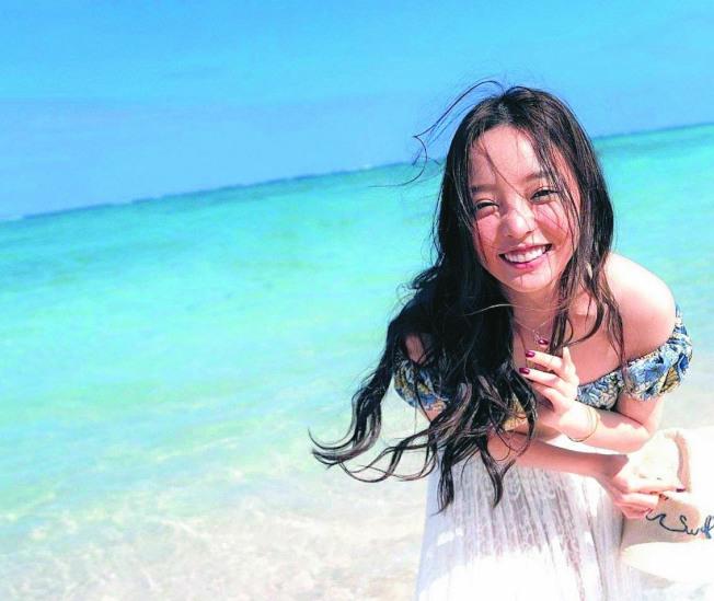 具荷拉在沖繩留下最後身影。(取材自推特)