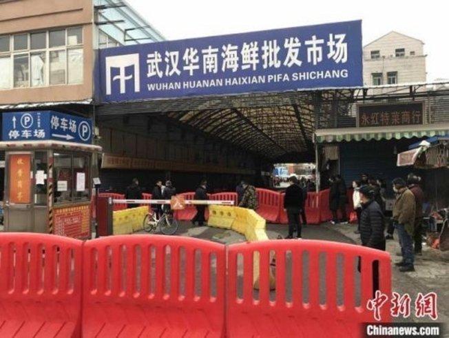 2019新型冠狀病毒疫情具感染風險,衛福部疾管署將武漢國際旅遊疫情建議等級列為第一級注意。(中新社)