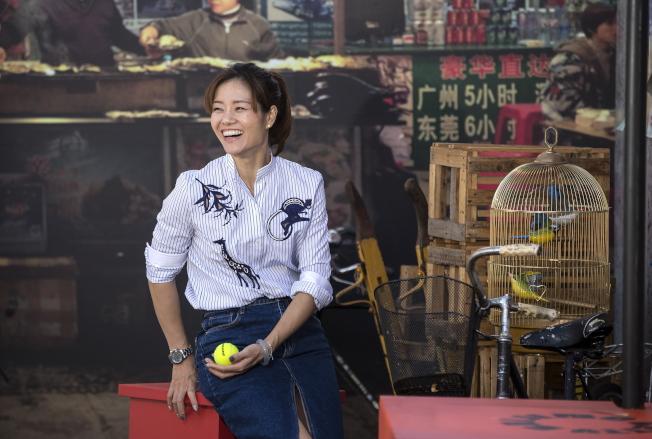 中國網球天后後李娜。(歐新社)